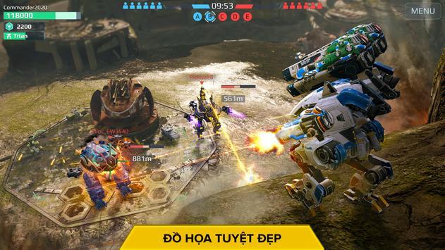 War Robots. Game Chiến thuật Nhiều người chơi 6v6 ảnh chụp màn hình 13