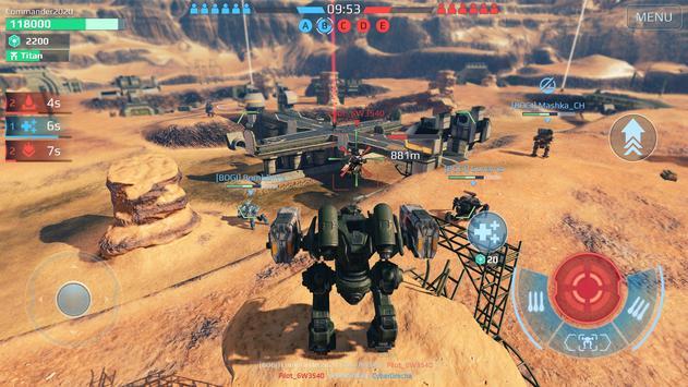 War Robots. حروب تكتيكية متعددة اللاعبين 6 ضد 6 تصوير الشاشة 17