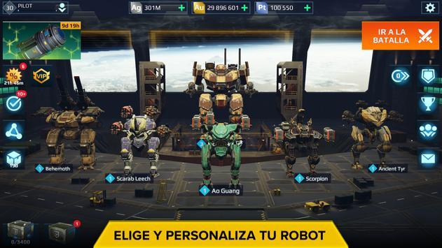 War Robots. Batallas tácticas multijugador 6v6. captura de pantalla 4