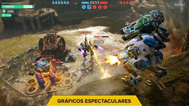 War Robots. Batallas tácticas multijugador 6v6. captura de pantalla 13