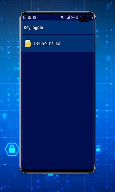 Keylogger : Keystroke Logger for Android - APK Download