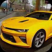 Speed Camaro - Driving Drag Academy icon