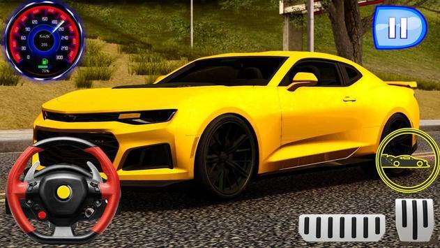 Speed Camaro - Driving Drag Academy poster