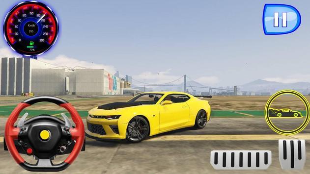 Speed Camaro - Driving Drag Academy screenshot 2
