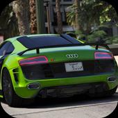 Drive Audi R-Sport - Speed Drag Rider icon