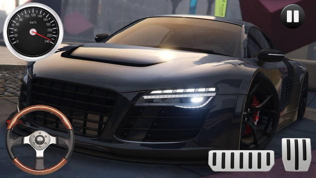 Drive Audi R-Sport - Speed Drag Rider screenshot 4