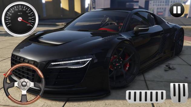 Drive Audi R-Sport - Speed Drag Rider screenshot 1