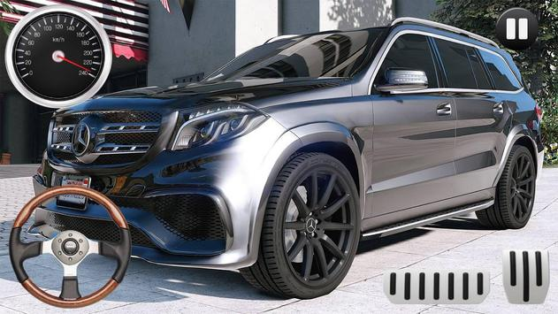 Drive Benz GLE SUV - City & Offroad poster