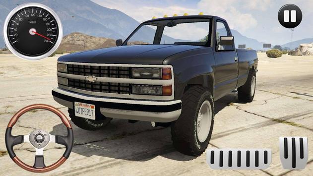Offroad Rider Chevy Silverado Sim 2019 screenshot 1