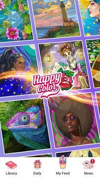 Happy Color – 按數字編號上色的塗色書 截圖 19