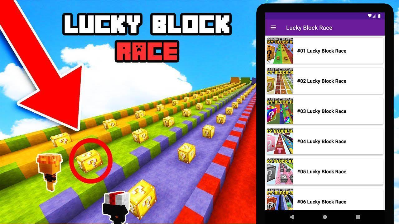 Lucky Block Race para Android - APK Baixar