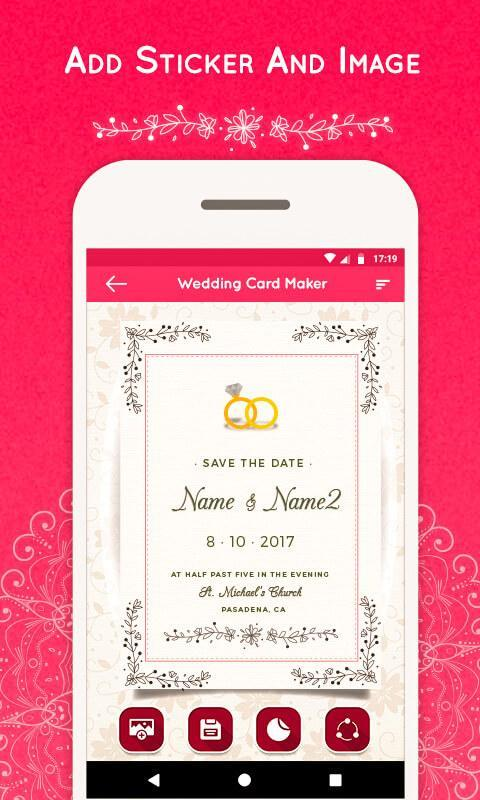 Wedding Invitation Card Maker For Android Apk Download