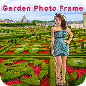 Garden Photo Frame : Cut Paste Photo Editor icon