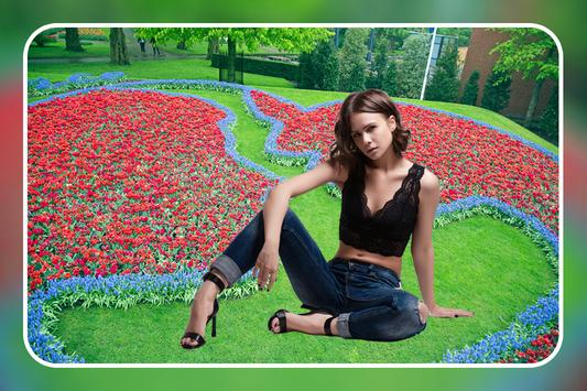 Garden Photo Frame : Cut Paste Photo Editor screenshot 3