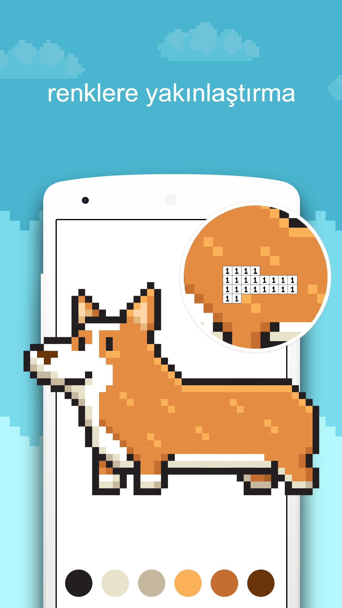 Numaralarla Boyama Oyunu Oyna Boyama Sayfası