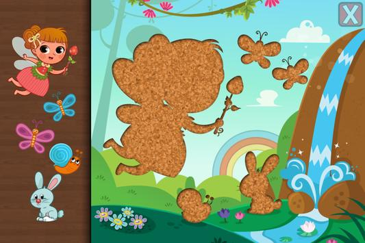 Fairytale Puzzles for Toddlers screenshot 1