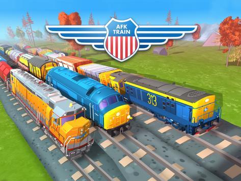 AFK Train penulis hantaran