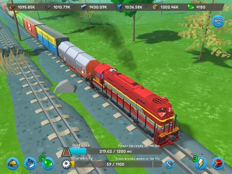 AFK Train syot layar 17
