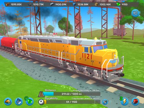 AFK Train syot layar 1