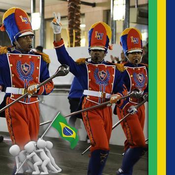 Brazil Flag Football World Cup Photo Frames screenshot 3