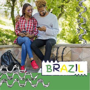 Brazil Flag Football World Cup Photo Frames screenshot 4