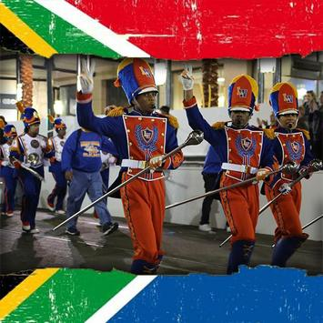 South African Flag Photo Frames Editor poster