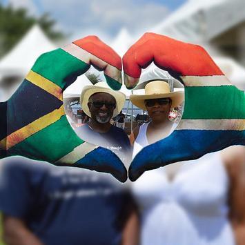 South African Flag Photo Frames Editor screenshot 2
