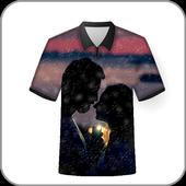 T Shirt Photo Frames Editor icon