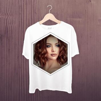 T Shirt Photo Frames Editor screenshot 1
