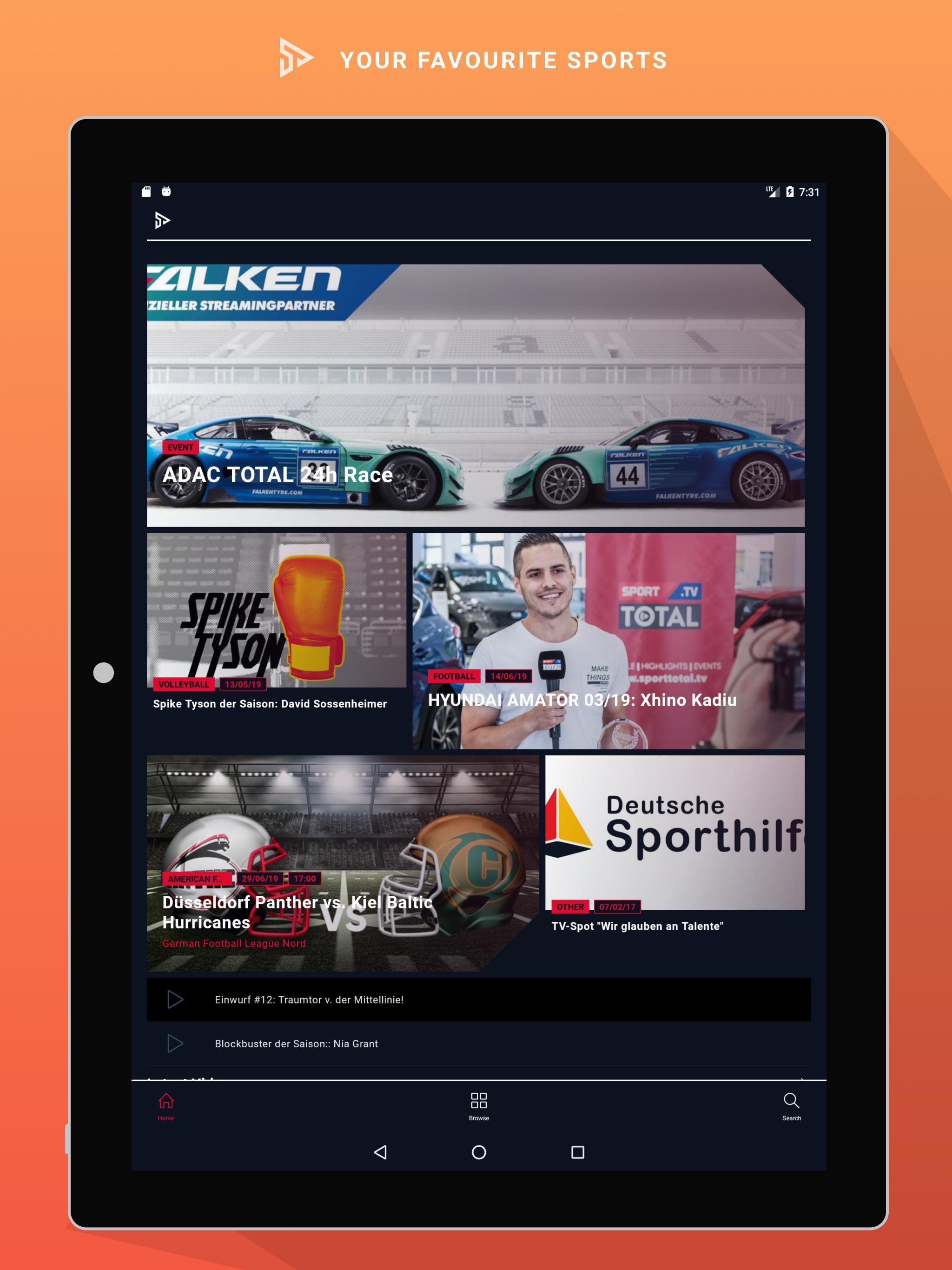 Sporttotal.Tv Live Stream