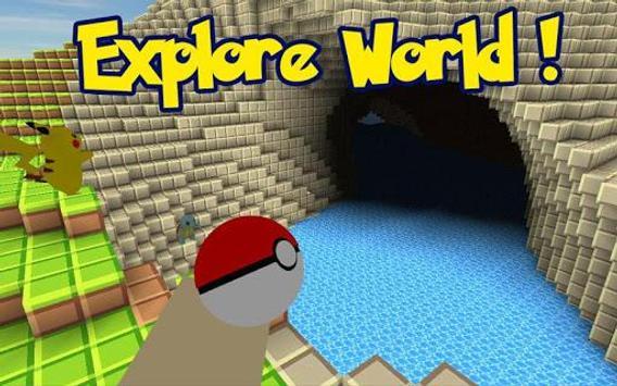 pokemon craft game mod apk download