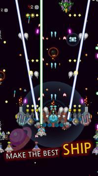 8 Schermata Grow Spaceship VIP - Galaxy Battle
