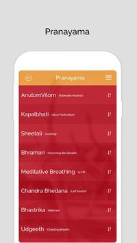 7pranayama: Fitness Yoga Souffle quotidien et calm capture d'écran 2