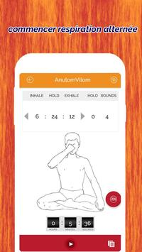 7pranayama: Fitness Yoga Souffle quotidien et calm capture d'écran 3