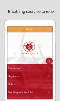 7pranayama  йога дыхание Relax скриншот 16