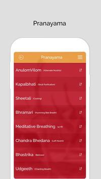 7pranayama  йога дыхание Relax скриншот 2