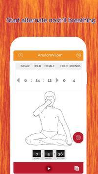 7pranayama  йога дыхание Relax скриншот 3