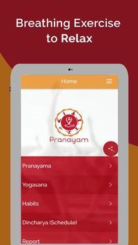 7pranayama yoga nefes Relax Ekran Görüntüsü 21