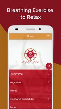7pranayama yoga nefes Relax Ekran Görüntüsü 5