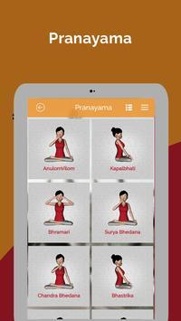 7pranayama yoga nefes Relax Ekran Görüntüsü 9
