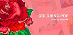 Coloring Pop : Quick Color by Number