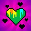 Pixel para colorear - colorear por números icono