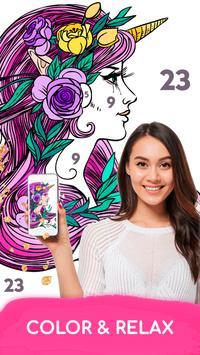 8 Schermata Colore per numero - Premium disegni da colorare