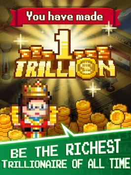 Tap Tap Trillionaire - Cash Clicker Adventure screenshot 13
