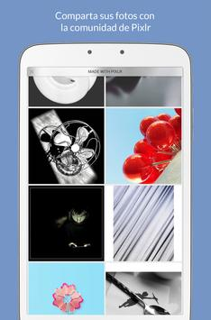 Pixlr captura de pantalla 7