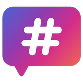 Hashtags - for likes for Instagram icon