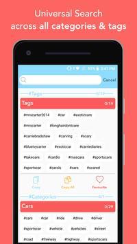 Hashtags - for likes for Instagram screenshot 2