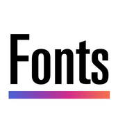 Cool Fonts for Instagram - Stylish Text Fancy Font icon