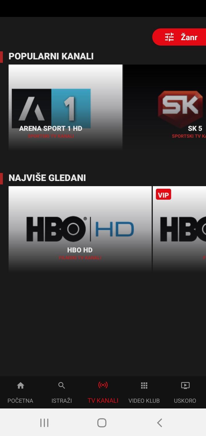 Gledanje besplatni interneta tv preko kanali za besplatno gledanje