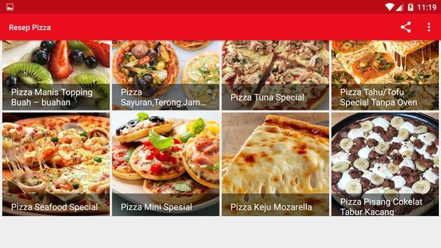 Resep Pizza screenshot 12